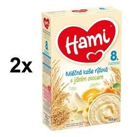 Hami rýžová s jižním ovocem 225g x 2ks