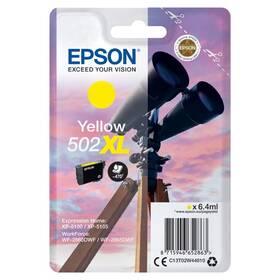 Epson 502XL, 470 stran (C13T02W44010) žlutá