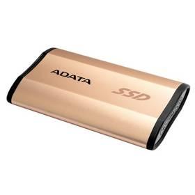 A-Data SE730 (ASE730-250GU31-CGD) zlatý + Doprava zdarma
