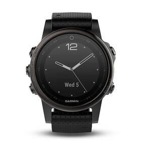 Garmin Fenix 5S Sapphire (010-01685-11) černé/šedé + Doprava zdarma