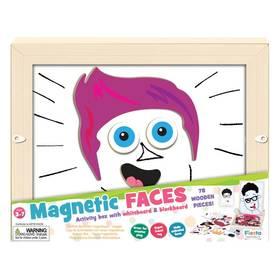 Magnetická mozaika Fiesta Crafts Obličeje + Doprava zdarma