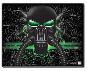 Connect IT Battle RNBW malá, 32 x 26 cm (CMP-1100-SM) černá