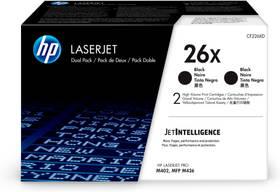 HP 26X (CF226XD) - 2 ks (CF226XD) čierny