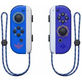 Nintendo SWITCH Joy-Con Pair Hylian Shield and Master Sword (NSP072) modrý/fialový