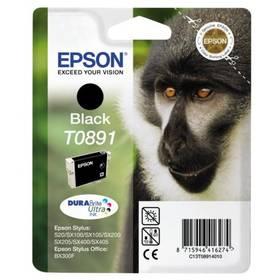 Epson T0891, 180 stran - originální (C13T08914011) čierna