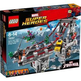 Lego® Super Heroes Spiderman 76057 Úžasný souboj pavoučích válečníků na mostě + Doprava zdarma