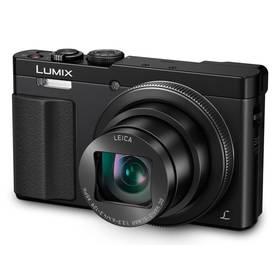 Panasonic Lumix DMC-TZ70EP-K černý + Doprava zdarma