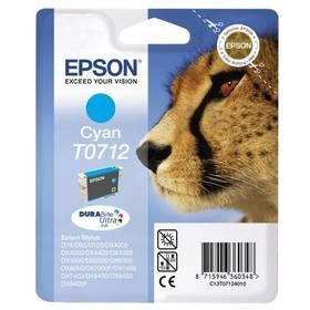 Epson T0712, 375 stran - originální (C13T07124011) modrá
