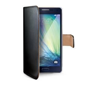 Puzdro na mobil flipové Celly WALLY pro Galaxy A3 (WALLY452) čierne