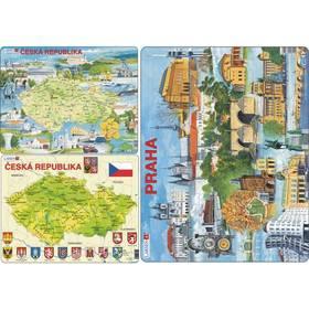 Larsen Mapa ČR, Česko atraktivní místa 2ks