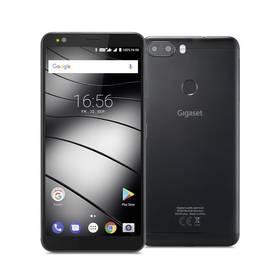 Gigaset GS370+ Dual SIM (A5B00101045797) černý SIM s kreditem T-Mobile 200Kč Twist Online Internet (zdarma)