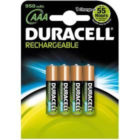 Duracell RCR AAA - 4 NiMH Accu NB 950 mAh
