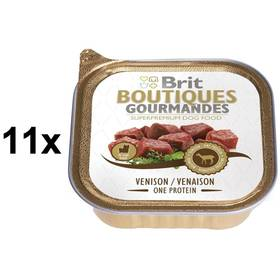 Brit Boutiques Gourmandes Venison Small Breed Meat 11 x 150g