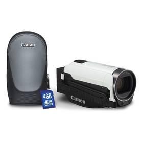 Canon LEGRIA HF R706 Essential kit bílá + Doprava zdarma