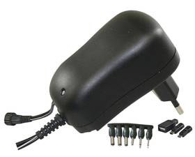 Napájecí adaptér EMOS pulzní 1000mA s hřebínkem