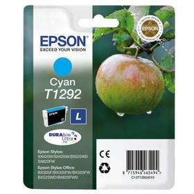 Epson T1292, 485 stran - originální (C13T12924011) modrá