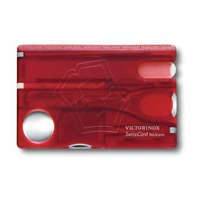 Victorinox Swisscard Nailcare multifunkční červené