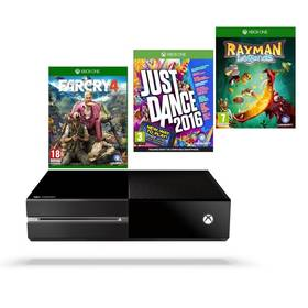 Microsoft Xbox One 1 TB + hra XONE Far Cry 4 + hra XONE Rayman Legends + hra XONE Just Dance 2016 (MSOH00037 ) + Doprava zdarma