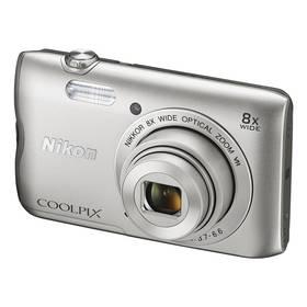 Nikon Coolpix A300 stříbrný + Doprava zdarma