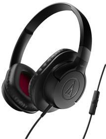 Audio-technica ATH-AX1iS (AU ATH-AX1iS BK) černá