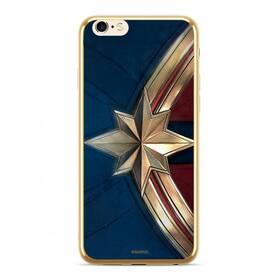 Marvel Captain Marvel pro Apple iPhone 5/5s/SE (MPCCAPMV012) zlatý
