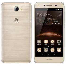 Huawei Y5 II Dual Sim (SP-Y5IIDSGOM) zlatý SIM s kreditem T-Mobile 200Kč Twist Online Internet (zdarma)+ Voucher na skin Skinzone pro Mobil CZ v hodnotě 399 KčSoftware F-Secure SAFE 6 měsíců pro 3 zařízení (zdarma) + Doprava zdarma