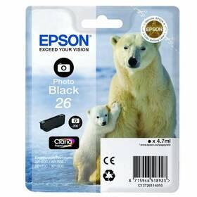 Epson T2611, 200 stran - foto černá (C13T26114010)