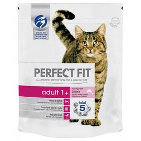 Perfect Fit Cat Adult s lososem 750g
