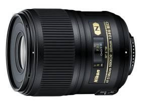 Nikon NIKKOR 60MM F2.8G ED AF-S MICRO černý + Doprava zdarma