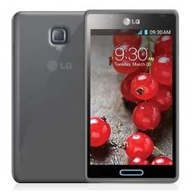 Kryt na mobil Celly Gelskin pro LG Optimus L7 II (GELSKIN303BS) sivý