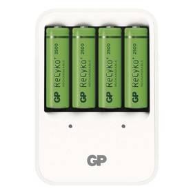 GP PB420 pro AA, AAA + 4x AA ReCyko+ (2500mAh) (1604142000) bílá
