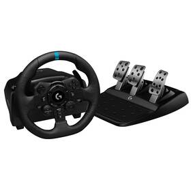 Logitech G923 Racing Wheel and Pedals pro PS5, PS4 a PC (941-000149)