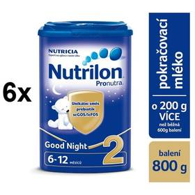 Nutrilon 2 Pronutra Good Night, 800g x 6ks + Doprava zdarma
