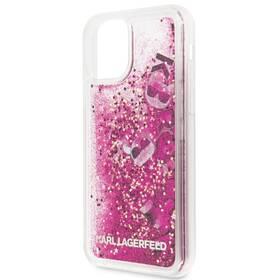 Karl Lagerfeld Floating Charms pro Apple iPhone 11 (KLHCN61ROPI) růžový