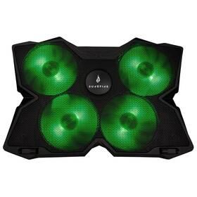 """SureFire Bora Gaming do 17"""" (48818) černá/zelená"""