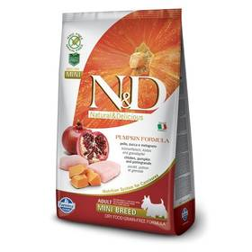 N&D Grain Free Pumpkin DOG Adult Mini Chicken & Pomegranat 2,5kg