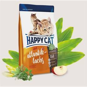 HAPPY CAT ADULT Atlantik-Lachs / Atlantický losos 10 kg + Doprava zdarma
