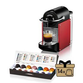 DeLonghi Nespresso Pixie EN125R černé/červené + Doprava zdarma