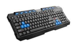C-Tech GMK-102-B, CZ/SK (GMK-102-B) čierna/modrá