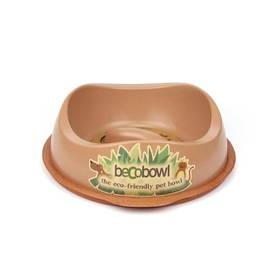 BecoPets Beco Bowl Slow Feed L 1,25l hnedá