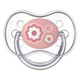 Canpol babies NEWBORN BABY silikonové třešinka +18m růžové