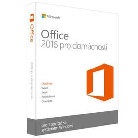 Microsoft Office 2016 CZ pro domácnosti a studenty pro 1 PC (79G-04339) + Doprava zdarma