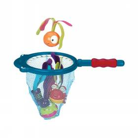 Podběrák s hračkami B-toys  Žralok Finley
