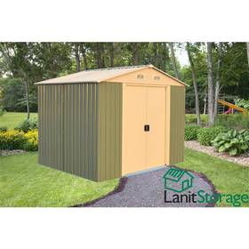 Záhradný domček Lanitplast Lanit Storage 8x8