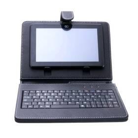 """GoClever 7"""" s klávesnicí universal černé (poškozený obal 3000006748)"""
