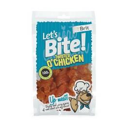 Brit Lets Bite Twister Chicken 80 g