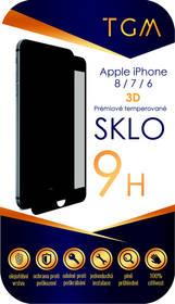 TGM 3D pro Apple iPhone 6/7/8 (TGM3DAPIP7/8BL) černé