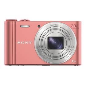 Sony Cyber-shot DSC-WX350 růžový + Doprava zdarma