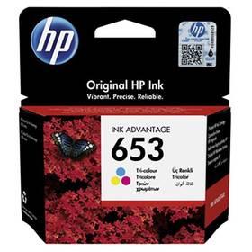 HP 653, 200 stran, CMY (3YM74AE)