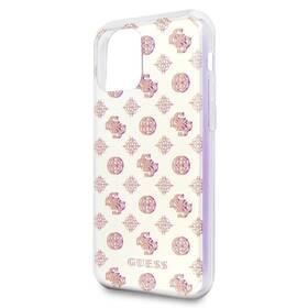 Guess Iridescent 4G Peony pro Apple iPhone 11 (GUHCN61PEOML) béžový